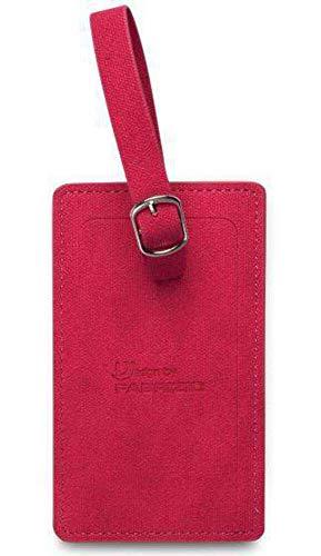 Fabrizio étiquettes Valise 12 x 7 cm Rouge 2 pièces