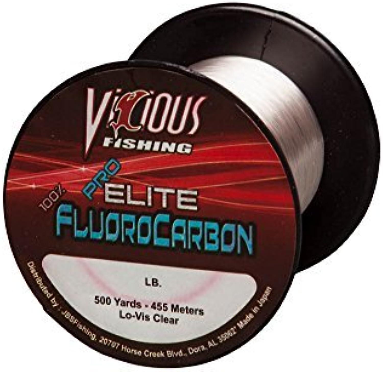 Vicious 500 Yard Pro Elite FluGoldcarbon Fishing Line by Vicious Fishing