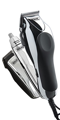 Wahl Hair Clippers for Men, 3-in-1 Chrome Pro Deluxe Head Shaver Men's Hair...