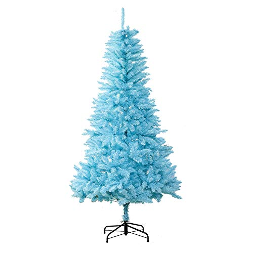TopBlïng Christmas Decoration Tiffany Blue Christmas Tree,4FT PVC Christmas Pine Tree,Artificial Natural Christmas Tree Metal Stand DIY Hinged,Kids
