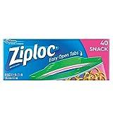 Ziploc Snack Bags 40 ct