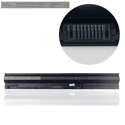 Replacement M5Y1K Battery, Ropwol New Laptop Battery Compatible with Dell Inspiron 3451 3551 5558 Vostro 3458 3558 Inspiron 14 15 3000 Series,Fits HD4J0 OVN3N0 WKRJ2 GXVJ3 HD4J0 K185W[14.8V 40Wh]