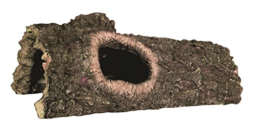Zilla Reptile Habitat Décor Hideouts Bark Bends, Medium