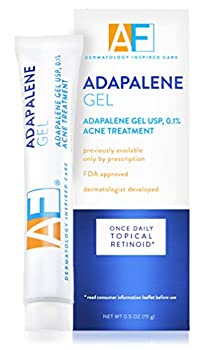 Acne Free Adapalene Gel 0.1% Once-Daily Topical Retinoid Acne Treatment 30 Day Supply 0.5 oz