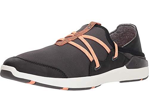 OluKai Miki Li Women's Athletic Shoes Pavement/Black - 10