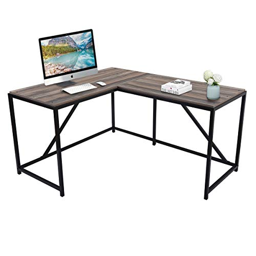 Computer Desk Office Workstation Computer Desk Home Office Wood Laptop Table Study Desk