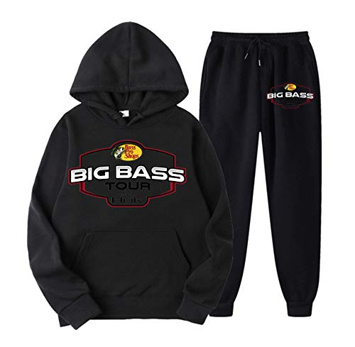 Bass Pro Shop Hoodie Jogger Sweatpants Pullover Sweatshirt Sweater