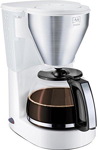 Melitta 1010-03 wh SST Easy Top Kaffeefiltermaschine -Tropfstopp -Schwenkfilter weiß/Edelstahl