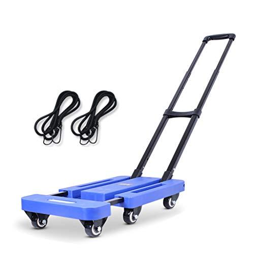Klappwagen, Klappwagen-Plattformwagen Mit Um 360 ° Drehbaren Rädern, Geeignet Für Gepäck, Reisen, Einkaufen, Auto, Handy Und Büro