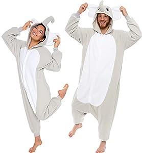 Elephant Adult Costume Pajamas