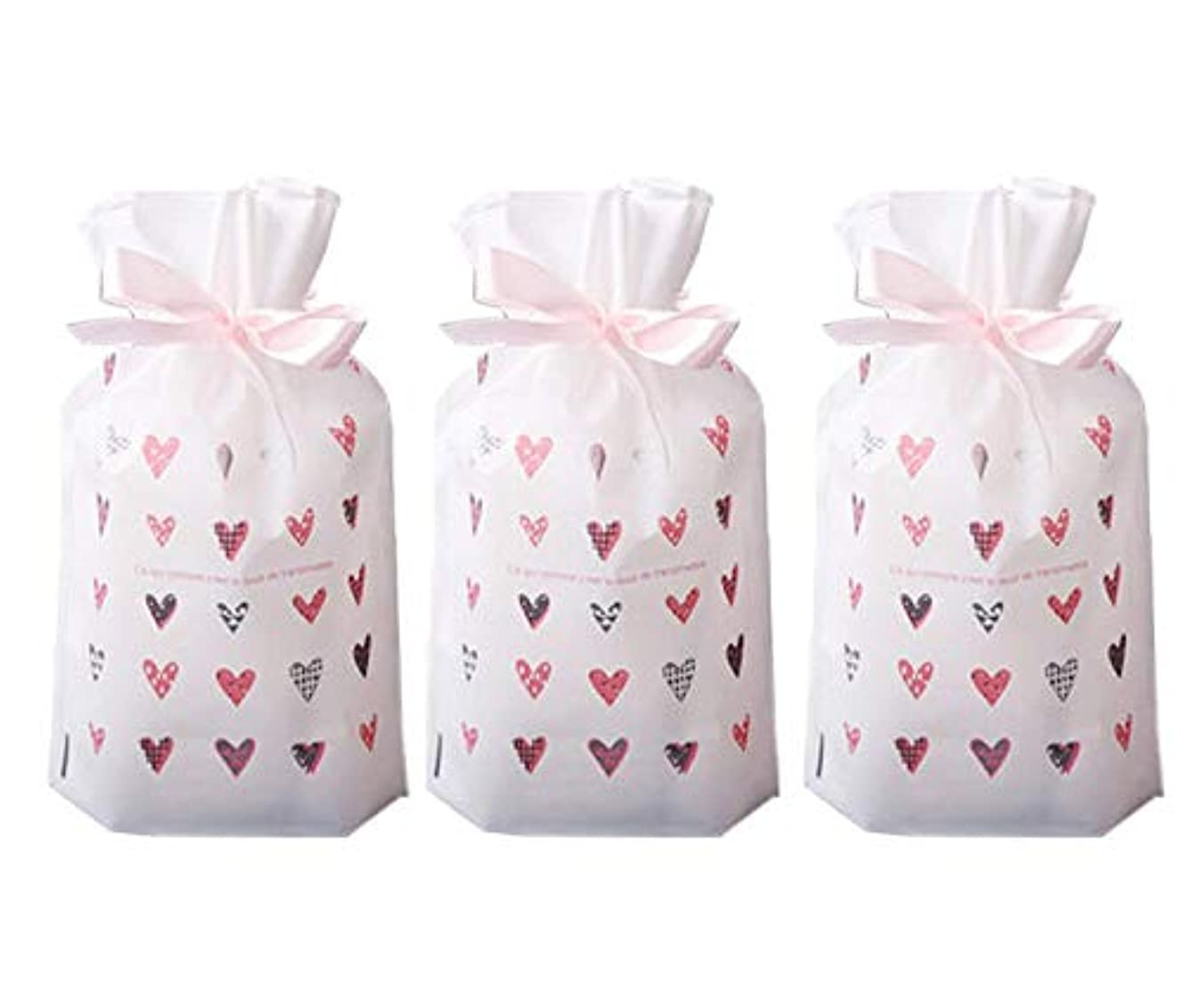Funcoo 30 PCs Party Favor Bags, Plastic Drawstring Gift Treat Bag Pouch, Candy Cookie Bag for Wedding Party Bridal Baby Shower Birthday Engagement Christmas Holiday Favor