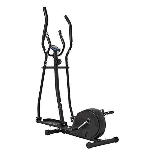 BZLLW Macchina ellittica, 2 in 1 Cyclette Cardio Croce Fitness Trainer Home Gym Equipmen Macchina ellittica Cross Trainer Trainer, for Gli Uomini/Donne
