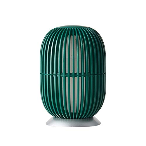 oofay Prickly Pear Aroma Diffuser Mini Elektrische Luchtbevochtiger Aromatherapie Machine 200Ml Geurige Olie Verdamper Bevochtiger Sfeer Licht, Groen