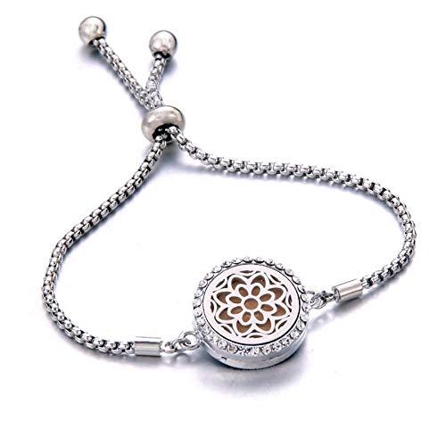 siqiwl bracelet Bracelet Essential Oil Diffuser Aromatherapy Locket B225-22