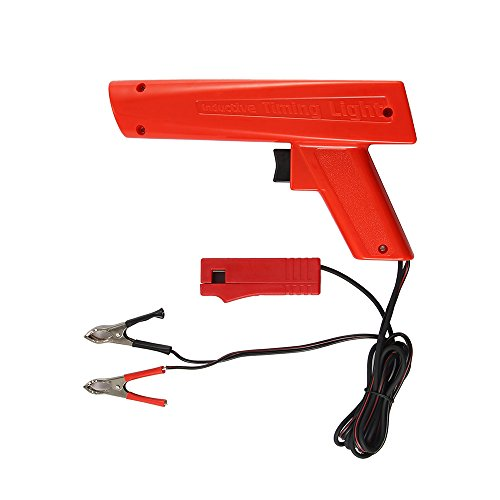 XIANNVV Xenon-Zeitlampe, Zündsteuerpistole für Benzinmotoren, ZC-100 12-V-Zündprüfgerät