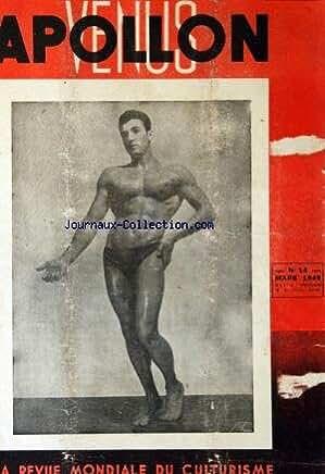 APOLLON VENUS [No 14] du 01/03/1949 - REVUE MONDIALE DU CULTURISME