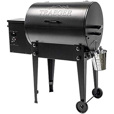 Traeger Pellet Grills TFB30KLF Tailgater 20 Grill, Black