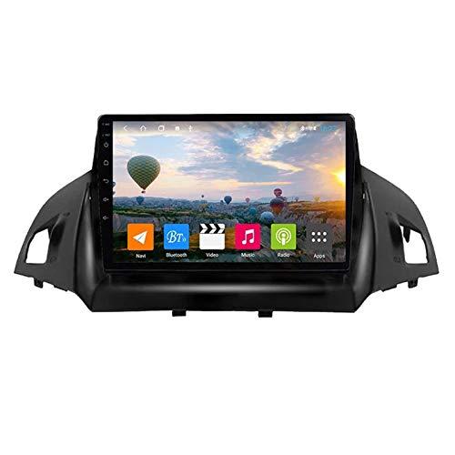Android 8.1 GPS Navigation Auto Radio Player Für Ford Kuga Escape 2013-2017, 9' Touchscreen Multimedia Player, Unterstützung BT/Mirrorlink/SWC/Rückfahrkamera/Dual USB,WiFi: 1+16g