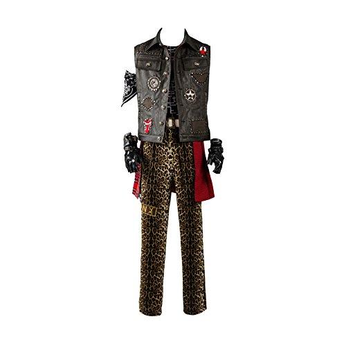 Final Fantasy XV FF15 Prompto Argentum Outfit Cosplay Kostüm Herren XXL