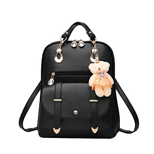 VECDY Damen Handtaschen Schultertasche Geldbörse Kartenhalter Tasche 2019 Neue Welle der weiblichen beiläufigen koreanischen weiblichen Tasche des Rucksacks