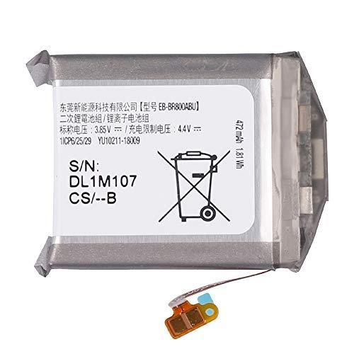 swark Batterie EB-BR800ABU compatible avec Samsung Galaxy Gear S4 SM-R800 SM-R805 46 mm Smart Watch