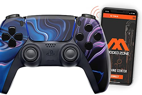Chaos Smart Rapid Fire Controller Compatible with PS5 DualSense Custom Modded Controller All Shooter Games & More