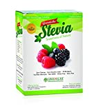 Greenich's All Natural Stevia Sachets-Sugar Replacement and Substitute-Sweetener-100 Sachets-Powder