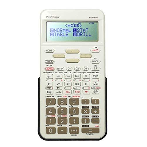 Finanz- & Wirtschaftsrechner Study Scientific Calculators Großes Display und Tasten Standardfunktion Desktop-Taschenrechner Basic Office Wissenschaftliche Rechner (Color : White)