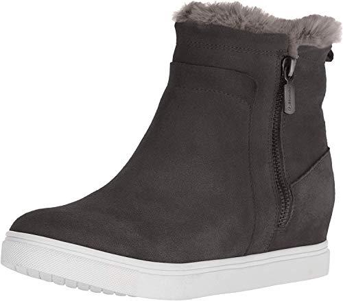 Blondo Women's Glade Sneaker, Dark Grey Suede, 9.5 M US