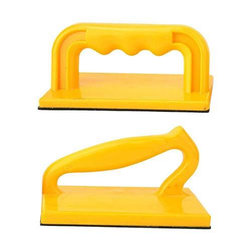 MOVKZACV 2 stücke Sicherheits-Schiebeblock, Ergonomisch Schräg Gerade ABS Holzbearbeitungswerkzeug für Holzbearbeiter und zur Verwendung an Tischsägen, Frästischen