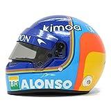 Mini Casco F1-2018 Fernando Alonso