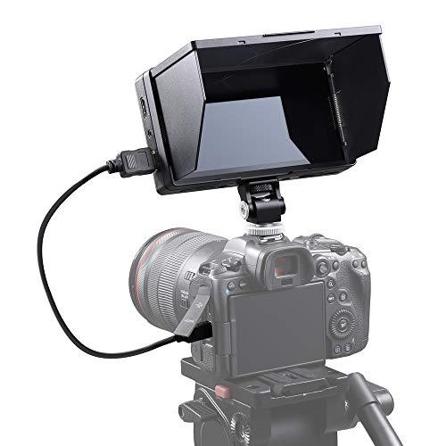 """Godox GM55 Monitor touchscreen da Campo,per Videocamera, 5.5"""" Ultra, IPS 4K HDMI Monitor da Campo per fotocamere DSLR ILDC"""