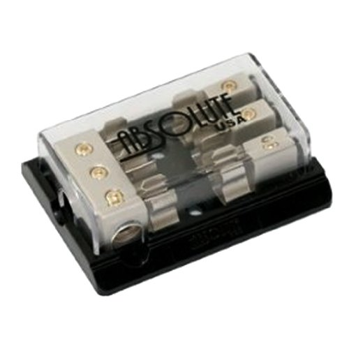 Absolute AGD22C 2 Gang Chrome AGU Fuse Distrubution Block