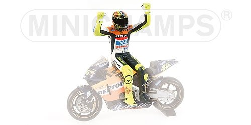 Minichamps DP 1/12 figure sitting Moto GP 2002 (Honda) (japan import)