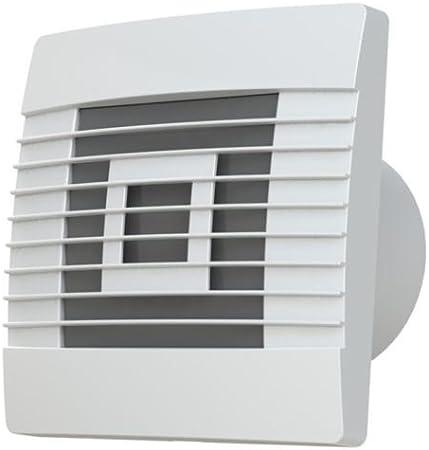 Calidad de la Cocina de la Pared 150 mm Campana extractora con Cable de tracción y persianas de Gravedad prestigio Ventilador de ventilación,