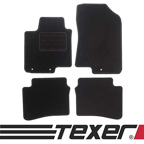 CARMAT TEXER Textil Fußmatten Passend für Hyundai i20 II Bj. 2014- Basic