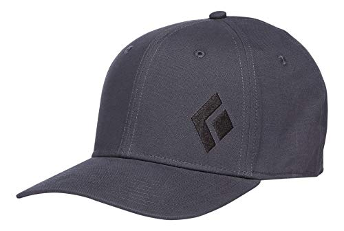 Black Diamond BD Cap Organic Gorra de béisbol, Carbon, S/M Unisex Adulto