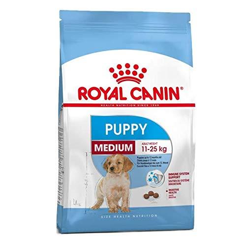 Royal Canin Crocchette per cucciolo di cane di taglia media, 4kg
