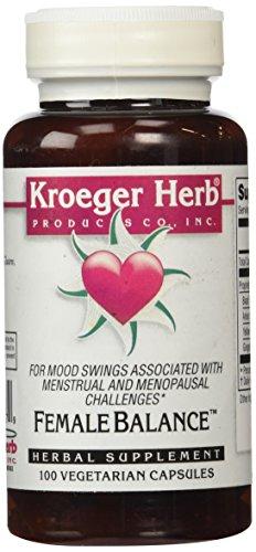 Kroeger Herb Female Balance Capsules, 100 Count