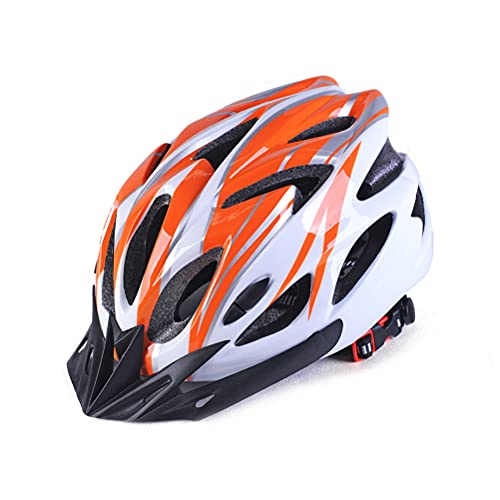 1pc All-around Adult Cycling Helmet Premium Adjustable Mountain and Road Bike Helmet with 18 Vents Great for 57-61 cm Head Size