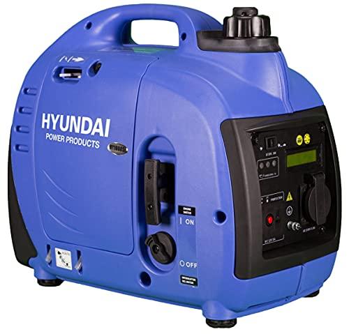 Hyundai HY-HY1000SI-PRO Generador Gasolina Inverter, Azul Y Negro, Mediano