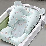 Tragbare Badewannenauflage, rutschfest, für Neugeborene, Sicherheitskissen, faltbar, weiches Kissen