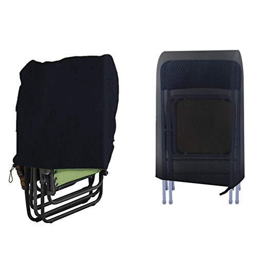 Eventualx Patio Stuhlbezug Wasserdichter Stuhlbezug für den Außenbereich Garten Klappbare Stühle Abdeckung Möbelschutzabdeckung 190T Oxford Stoff Stuhlbezug