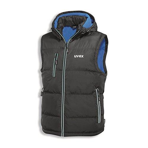 Uvex 9866712 Thermo 9892 zwart/blauw XL gewatteerd vest