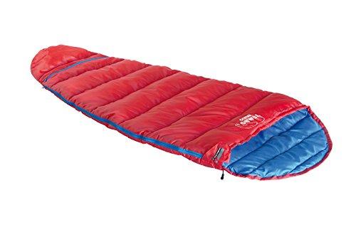 High Peak Kinder Schlafsack Tembo Vario, rot/Blau,