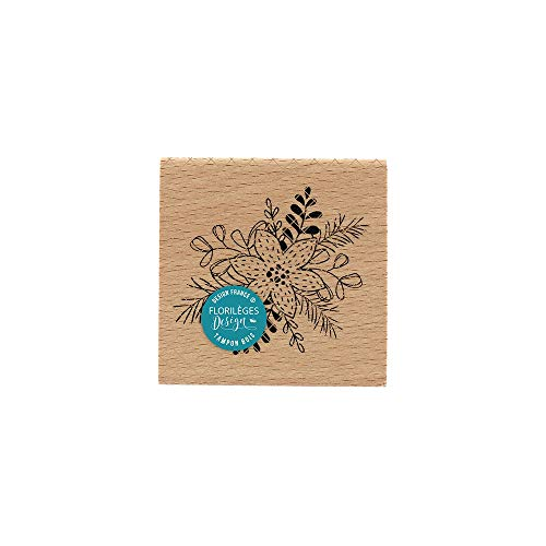 Florilèges Design Stempel, Hout, 70 x 70 mm