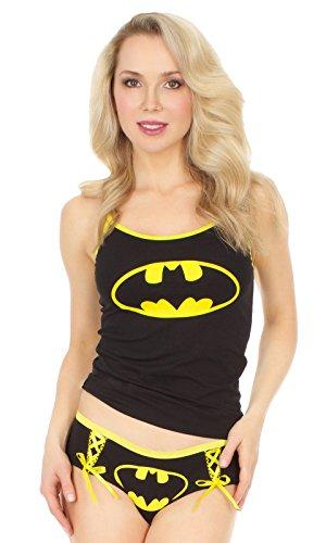 DC Comics DC Comics Batgirl Cami y conjunto de bragas para mujeres (peque?as)