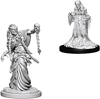 Dungeons and Dragons D&D Nolzurs Marvelous Unpainted Miniatures  Wave 6  Green Hag & Night Hag
