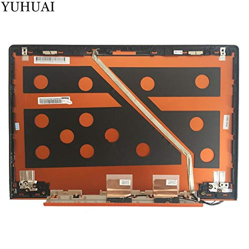 Laptop keyboard, LCD BACK COVER for Lenovo IdeaPad U330P U330 NO Touch LCD Rear Lid Back Cover orange 90203125 3CLZ5LCLV70