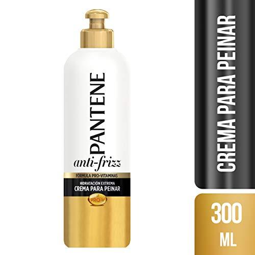 Pantene Pro-V Anti-frizz - Crema para peinar, hidratación extrema, 300 ml (el paquete puede variar)